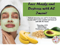 Face Masks and Destress with AC Imani!