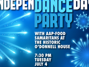 IndepenDANCE Day Party! Benefitting AAP – Food Samaritans