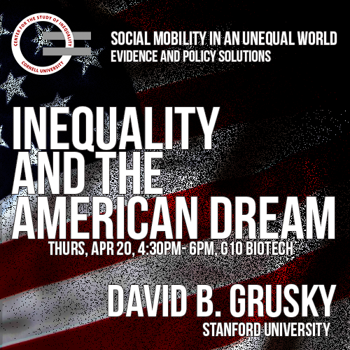 Keynote Address: Inequality and the American Dream