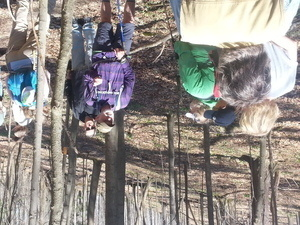 Earth Day Hike on the Cayuga Trail