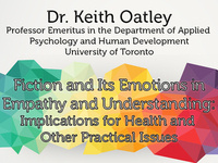 Communication Colloquium Series: Fiction and its emotions in empathy and understanding: Implications for health and other practical issues