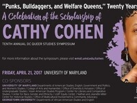 """Punks, Bulldaggers, and Welfare Queens,"" Twenty Years Later: A Celebration of the Scholarship of Cathy Cohen"