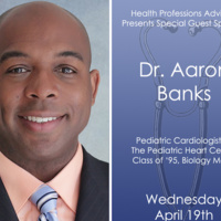 Health Professions Advising Welcomes Dr. Aaron Banks