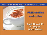 FREE Coffee + Cookies