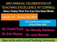 3rd Annual Celebration of Teaching Excellence