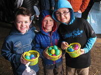 RED BARN LEARNING FARM ANNUAL EASTER HUNT TROLLEY TOUR