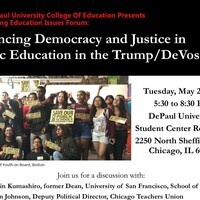 Spring Forum: Advancing Democracy and Justice in Public Education in the Trump/DeVos Era