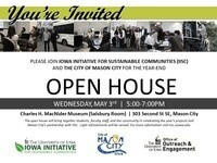 Iowa Initiative for Sustainable Communities Year-End Open House with Mason City