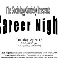 The Sociology Society Presents-Career Night