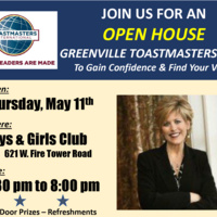 Toastmasters Open House - Greenville Club
