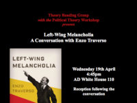 Left-Wing Melancholia, A Conversation with Enzo Traverso