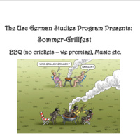German Studies Sommer-Grillfest
