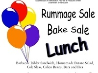 BBQ Pork Riblet Lunch, Bake and Rummage Sale