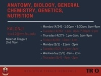 SSS-STEM: Anatomy, biology, General Chemistry, Genetics, Nutrition For Finals