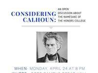 The Naming of Calhoun Honors College