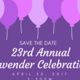 23rd Annual Lavender Celebration