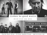 """Derek Michael Marc & """"Double AA"""" - live music @ Charles Smith Wines"""