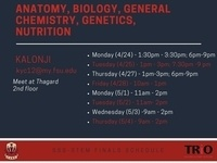 SSS-STEM: Anatomy, Biological Science, General Chemistry, Nutrition, Genetics