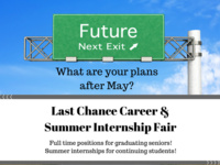 Last Chance Career and Summer Internship Fair