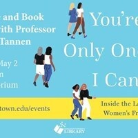 Lecture and Book Signing with Professor Deborah Tannen