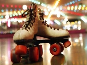 Glow and Roll roller skating