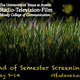 RTF End of Semester Screenings