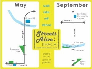 10th Edition: Streets Alive! Ithaca