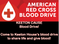 Red Cross Blood Drive -  Keeton Cause Eligible!!!