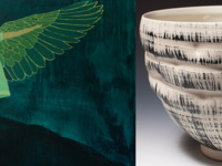 Ceramist Ryan Ball and Painter Shawna Gilmore Exhibit