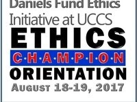 2017 Ethics Fellow and Champion Orientation