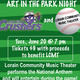Lorain Community Music Theater's 2nd Annual Art in the Park at the Lake Erie Crushers Game