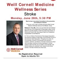 Weill Cornell Medicine Wellness Series with the New York Public Library