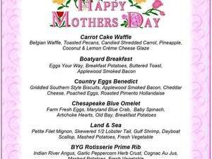 Boatyard Grills Mothers Day Brunch