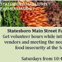 Volunteer with the Farmer's Market