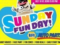 Sunday Funday - Walla Walla Sweets vs. Wenatchee AppleSox @ Borleske Stadium