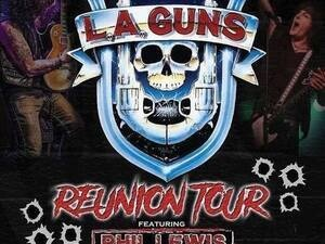 LA GUNS Reunion Tour