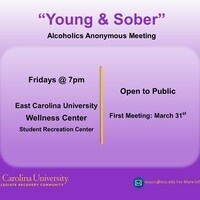 """Young & Sober"" Alcoholics Anonymous Meeting"