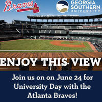 University Day with the Atlanta Braves