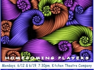 Homecoming Players presents CURVED, by Kristin Shepherd
