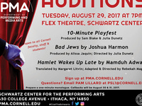 Auditions for Upcoming Performing & Media Arts' Productions