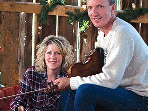"""Natalie MacMaster and Donnell Leahy, """"A Celtic Family Christmas"""""""