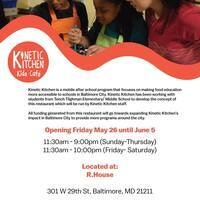 POP UP: Kinetic Kitchen // Kids Café