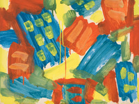 Robert Richenburg: Abstract Expressionist Painter
