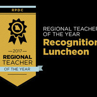 Hook Center RPDC Regional Teacher of the Year Recognition Luncheon