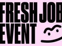 AIGA@Parsons: Fresh Grad / Edu Talks - Fresh Jobs: Mini-Job Fair