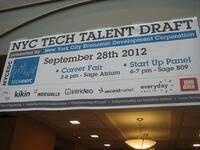 NYCEDC Tech Talent Draft Panel Discussion and Networking Reception