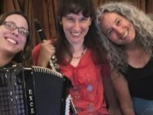 Hands Four Dancers of Ithaca Contra Dance with Old World Charm School
