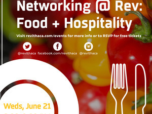 Networking@Rev: Food & Hospitality