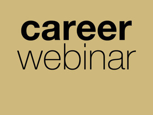 Career Webinar: The Graduate's Handbook: Your No-Nonsense Guide for What Comes Next