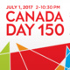 Canada Day 150 at Celebration Square